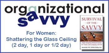 Organizational Savvy for Women