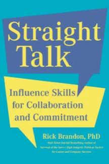 Straight Talk - Influence Skills